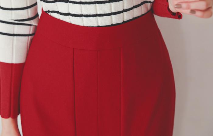 key point Color Hline Slit Skirt