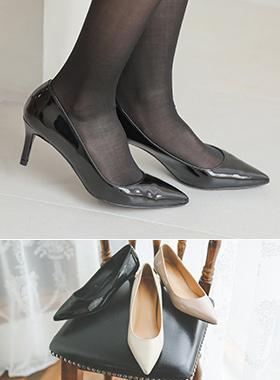 Enamel Simple Stiletto Heel (5cm / 7cm)