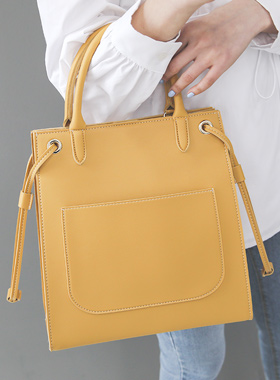 Square Big Pocket Point Tote bag