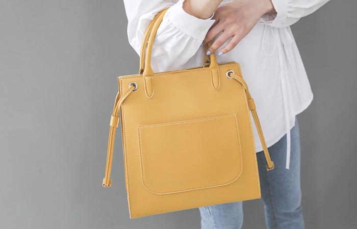 Square Big Pocket Point Tote bag
