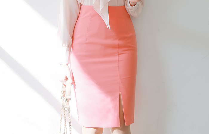 Side Center Front Vent High Skirt(spring) Ⅱ