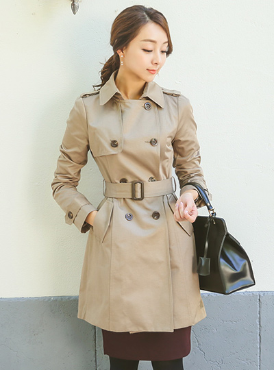 Forever Classic Trench Coat
