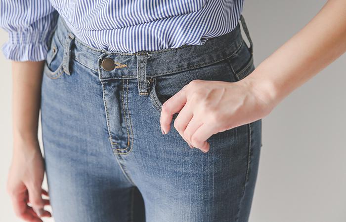 Natural Cutting Washing Jeans