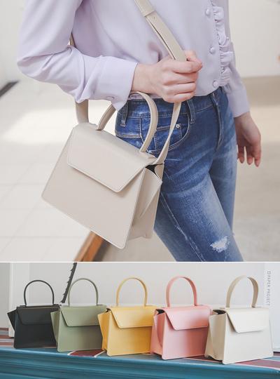 Square Shape Flap Belt Bag
