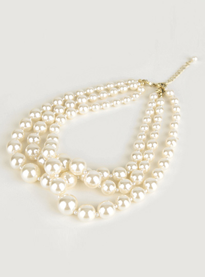 3S pearl Necklace