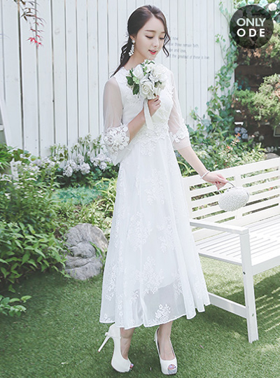 De Mare Self-Wedding Dress