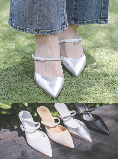 two-way Double SlingBack Heels