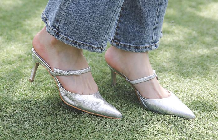 two-way Double SlingBack Heels