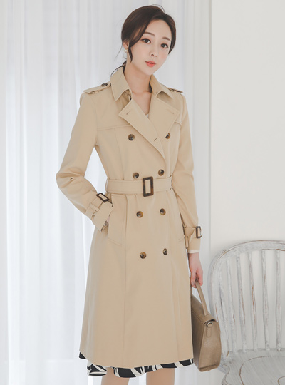 Diana Long Trench Coat Ⅱ