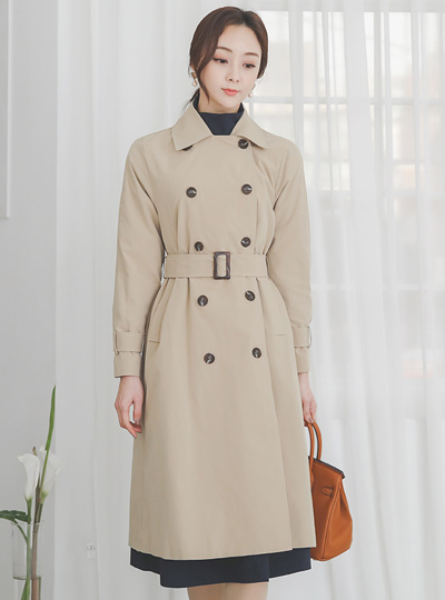 Wales Classic Double Trench Coat