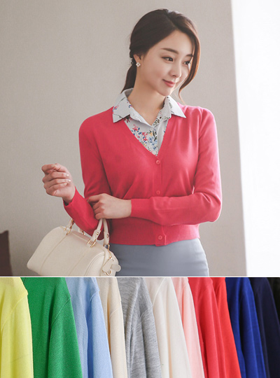 Four Color Mini Cardigan