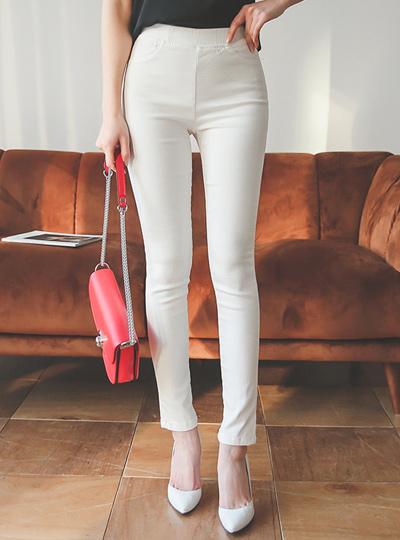 Basic Slim Banding Pants (summer)