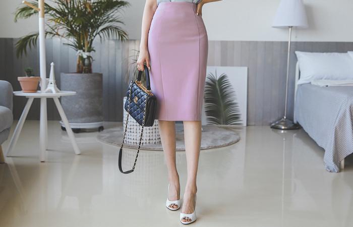 Side Cutting H-line Span Skirt