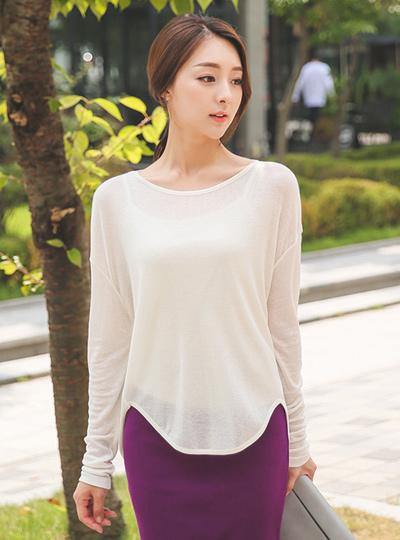 Cotton wool T-shirt silhouette stingray