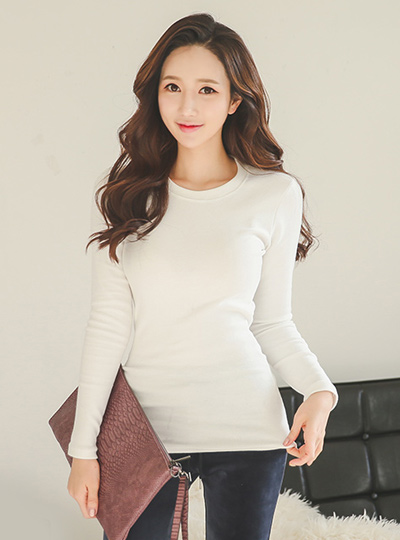 Slim Fit napping Round Tee