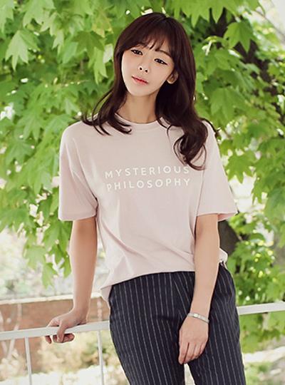 Philosophy Round T-shirt