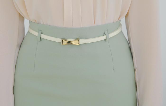 Daily Span H-line Skirt(spring) Ⅱ