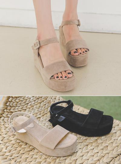 Summer Simple Platform-Sandals