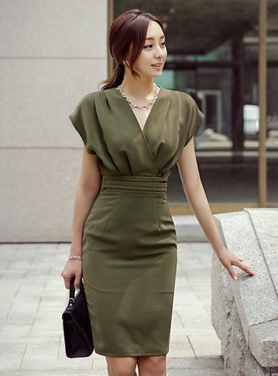 Isabelle cap sleeves One Piece