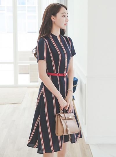 Lauren line Shirt Flare Dress