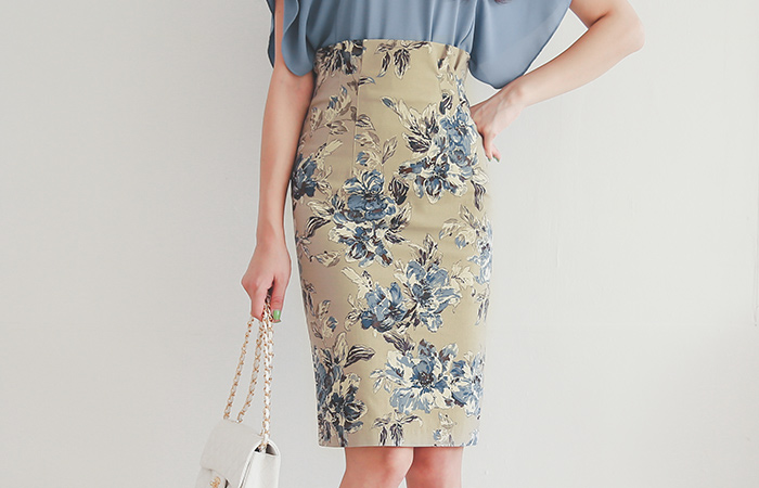 Leo Dart Pint High Skirt