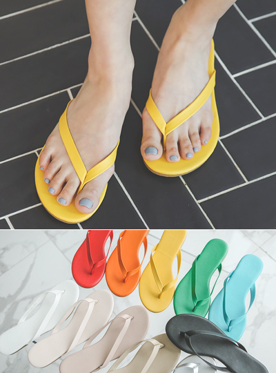 Rainbow Colorful Daily Flip Flop