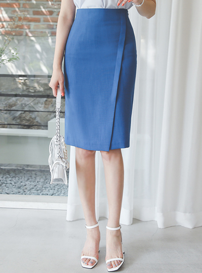 Cooling Diagonal Cutting Slit Span Skirt