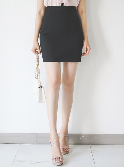 Cooling Texture Obi Mini Skirt