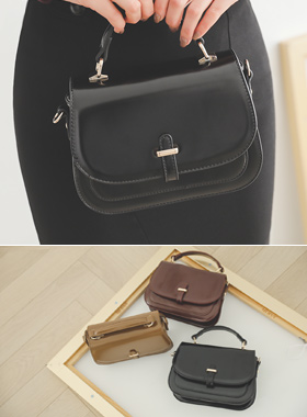 [Models wear36st]Classic Flap Mini Tote bag