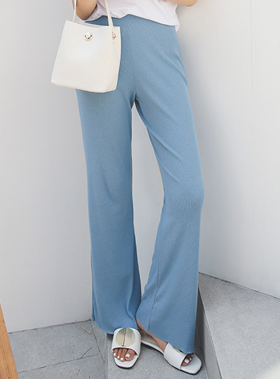 Tencel Corduroy Easy Wide Pants
