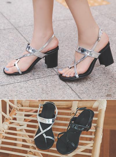 Flip Flop Glossy Sandals