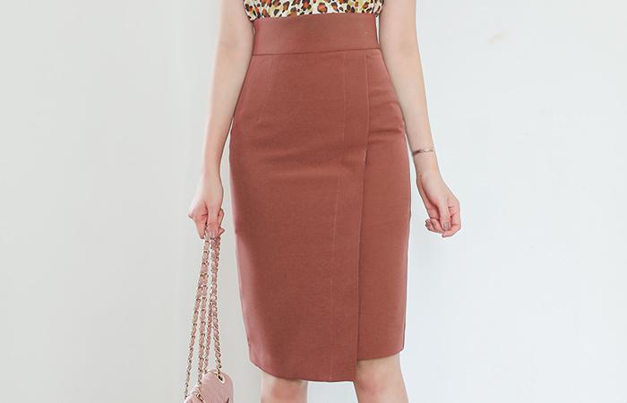 Swing Side Cutting Span Skirt