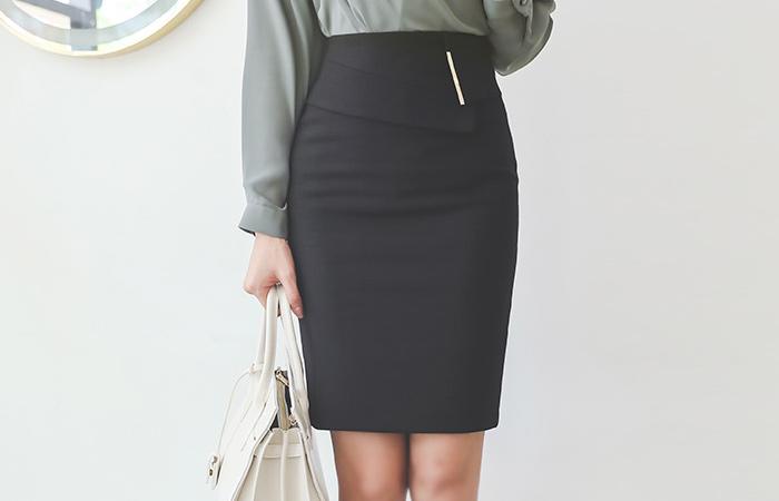 Unbalance-Wing Gold-Stick Skirt(fall) Ⅱ