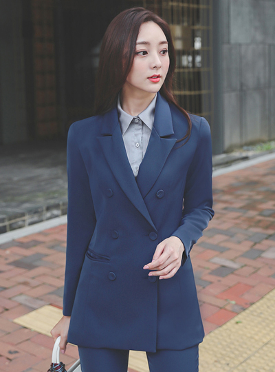 Formal Triple Double-button Jacket