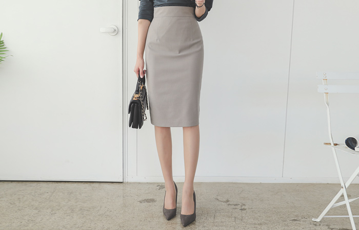 Obi Pencil High Midiskirt(fall)
