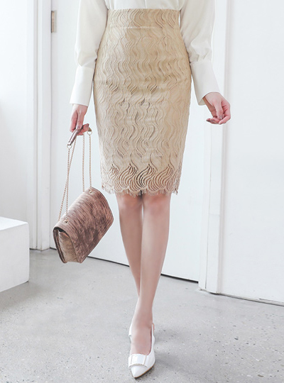 Grace Wave Lace Skirt Ⅱ