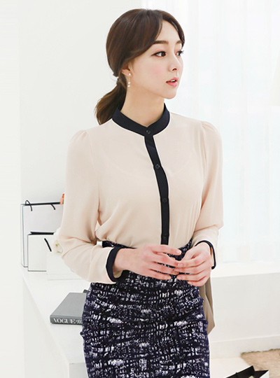 China color combination Blouse