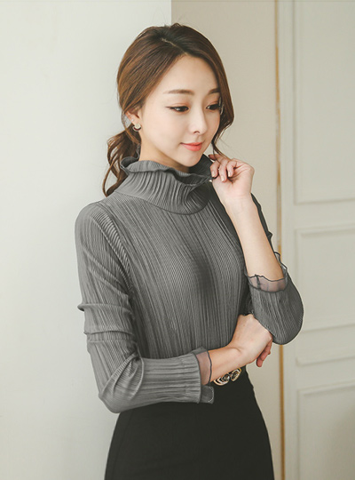 Double hayinek Pleats Blouse