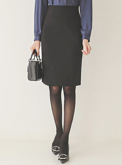Autumn Span H-line Skirt(fall)