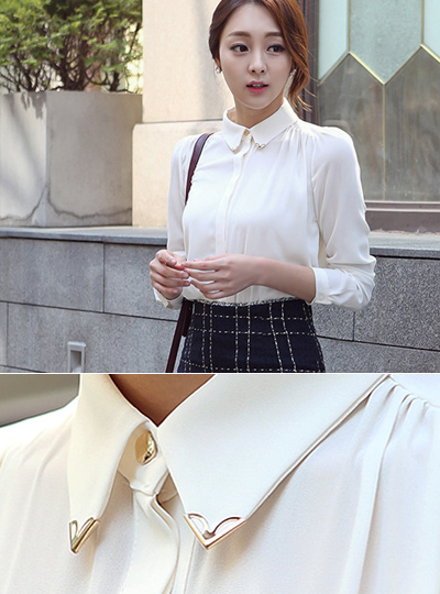 Gold Tips Kara Blouse