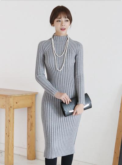 Semi hayinek Long knit One Piece