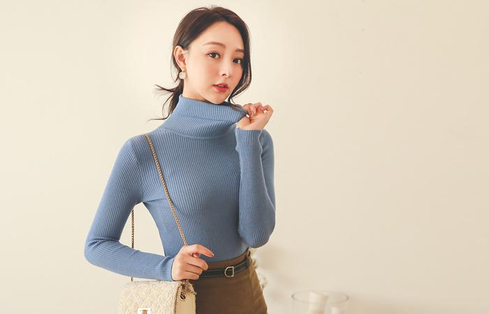Soft Daily Slim Corduroy Knit