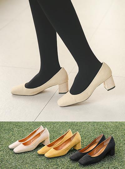 Corduroy Middle Pumps Heels
